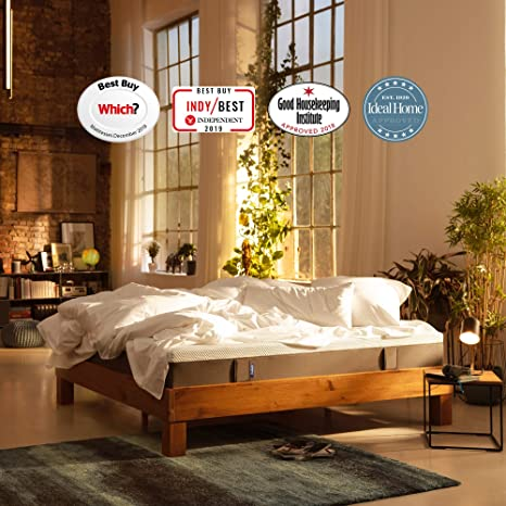 Emma Original King Size Mattress 150x200 cm - 7-Zone Back Structure