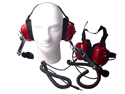 Race Day Electronics Fan Intercom System Two Way Headsets, Red Racing Headphone Plug Wiring Diagram on