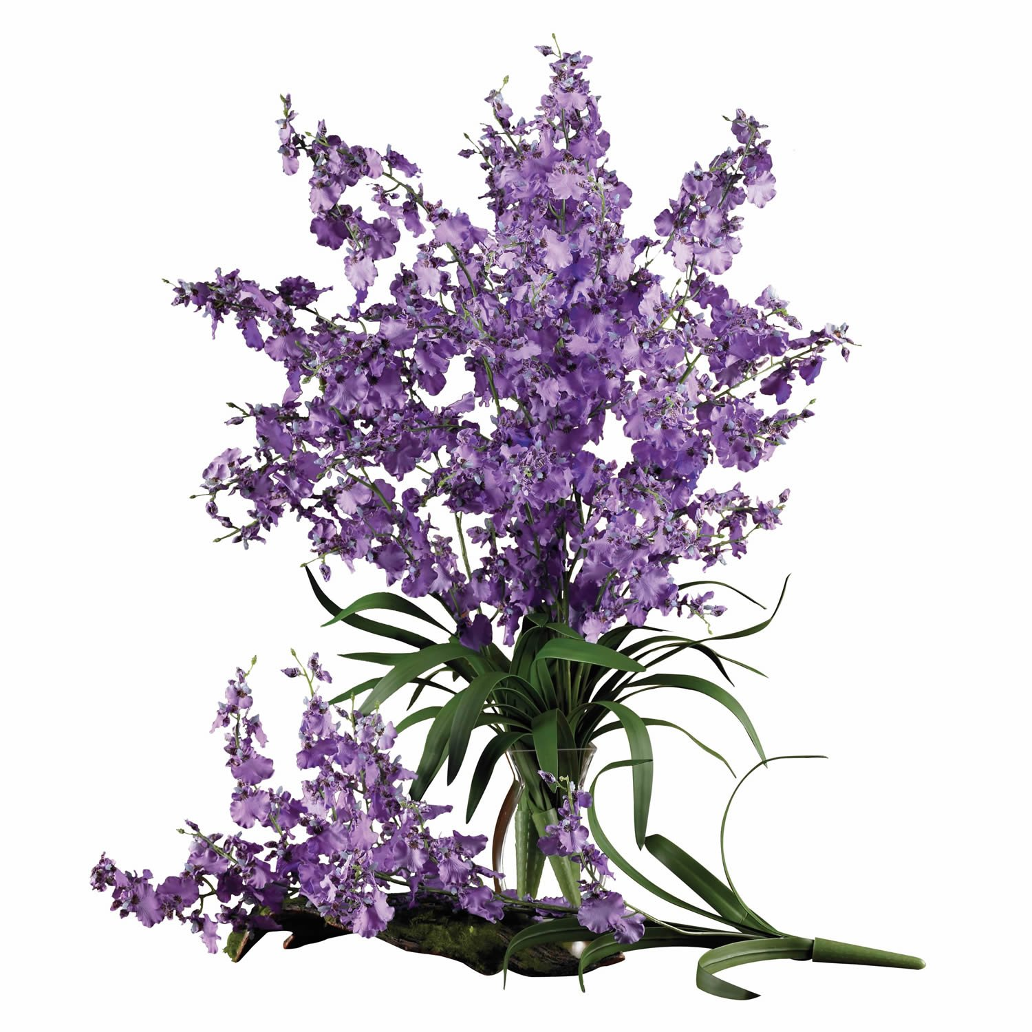 Set of 12 Nearly Natural 2009-PP-12 Dancing Lady Purple
