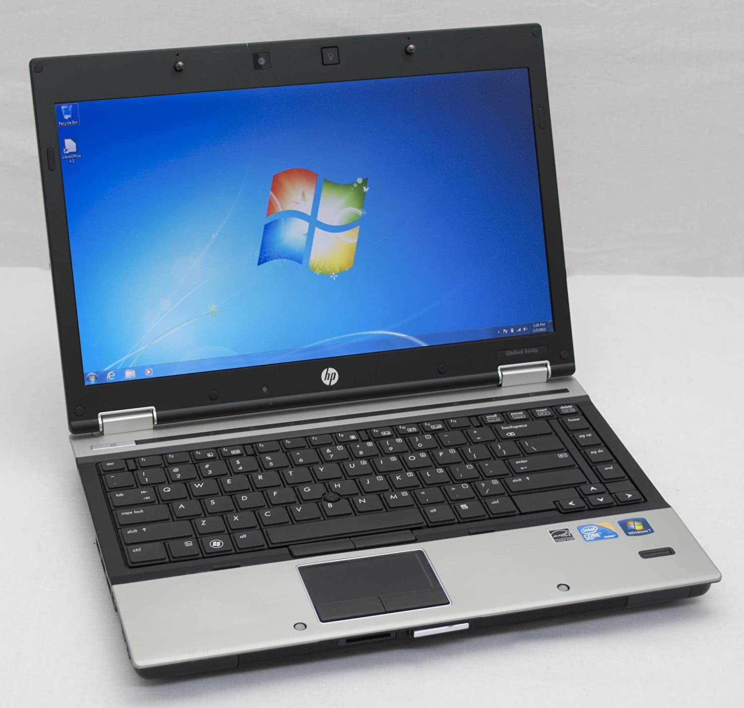 HP Elitebook 8440p Laptop-Core i5 2.4 GHz-8 GB DDR3-1 TB HDD-DVD/RW-Win 7 Pro 64 Bit