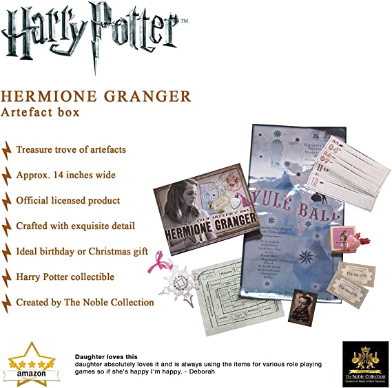 Noble Collection NN7431 Hermione Granger Artefact Box