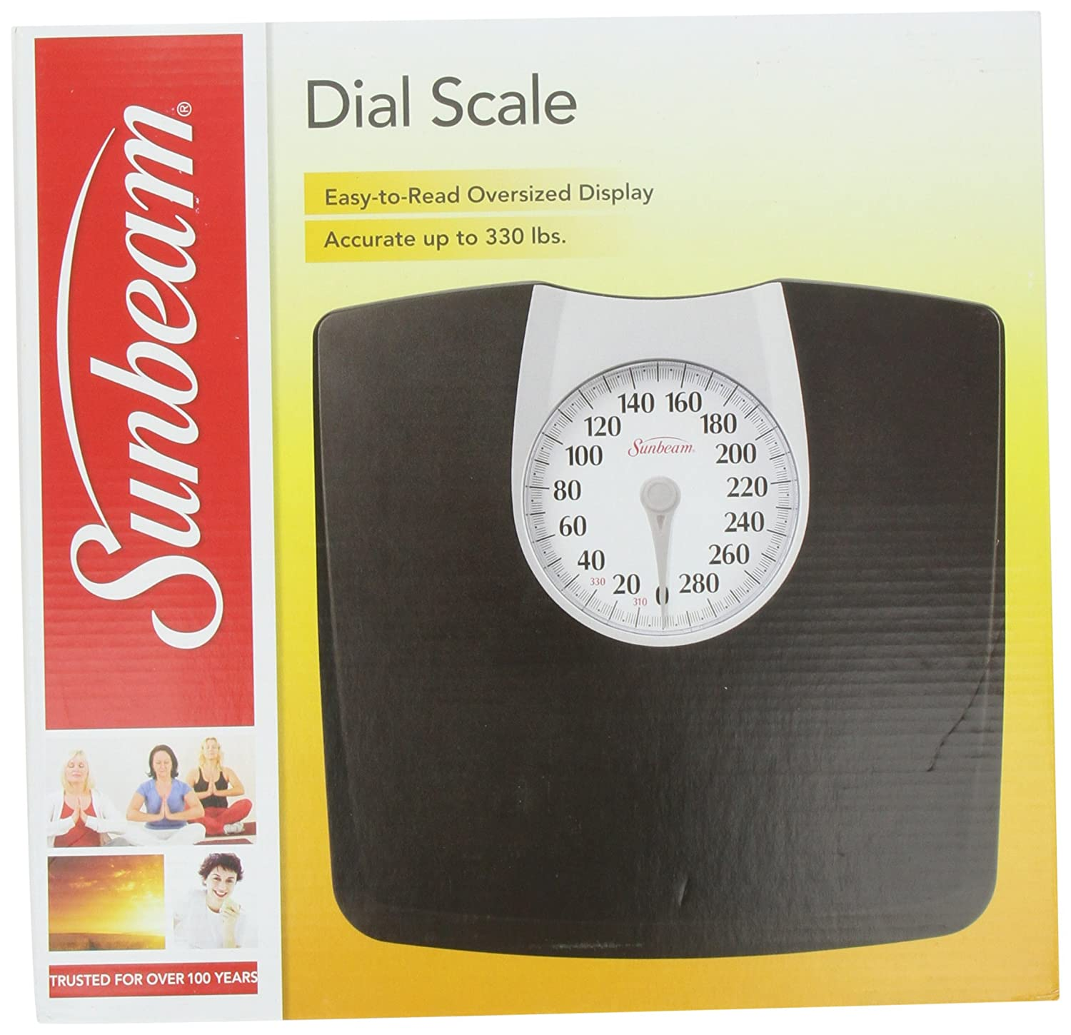 Amazoncom Sunbeam SAB Full View Dial Scale Health - Digital vs analog bathroom scale