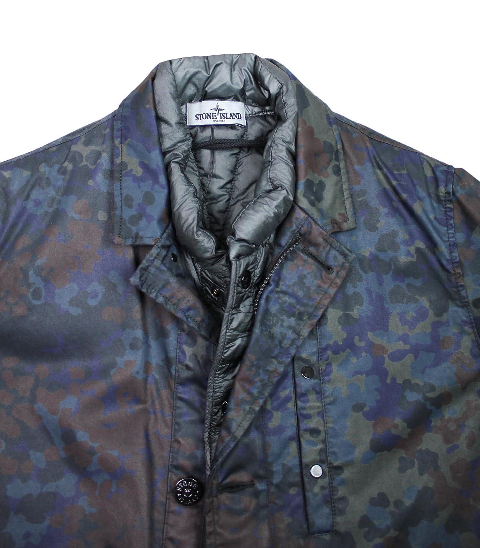Stone Island Herren Mantel Camouflage XXL: : Bekleidung