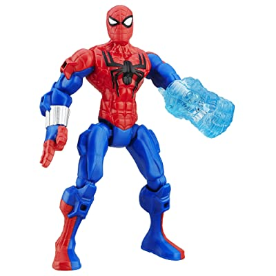 Marvel Super Hero Mashers Spider-Man Figure: Toys & Games