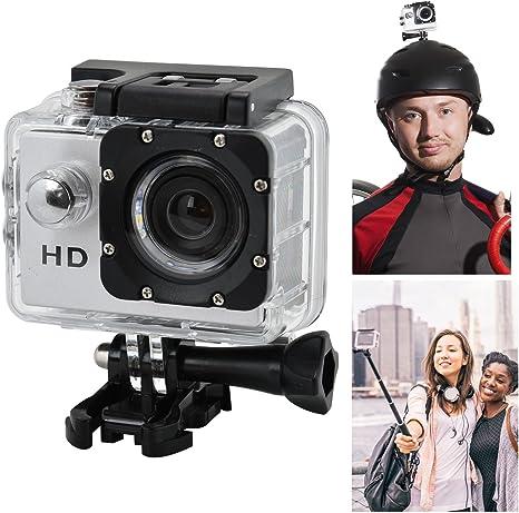 HD 720P 30 FPS impermeable Pro deportes cámara de acción ...