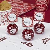 Neviti Merry Christmas - Palline natalizie segnaposto