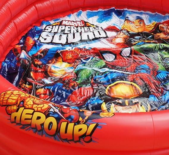 MARVEL SUPER HEROES PISCINA PISCINA PARA NIÑOS 90 CM x 30 CM: Amazon.es: Juguetes y juegos
