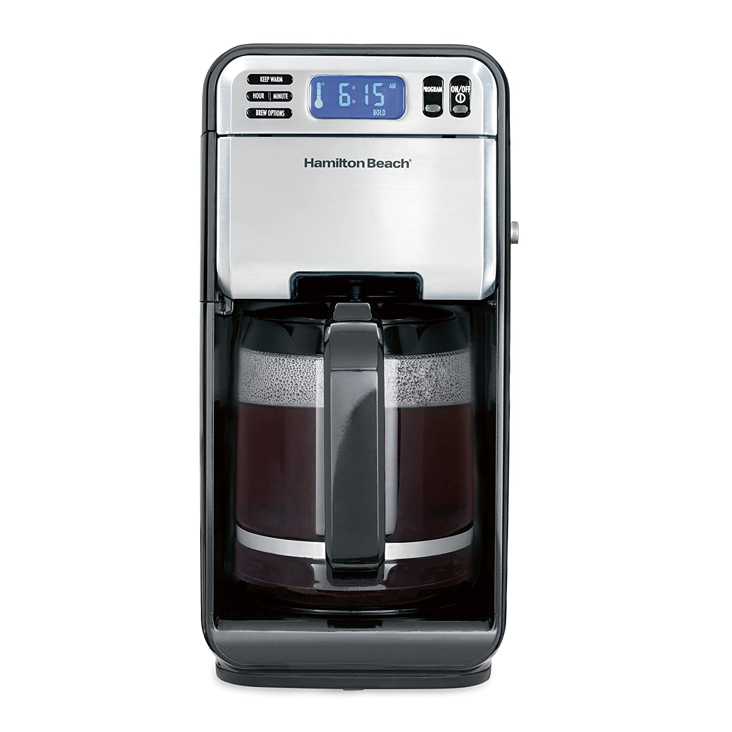 coffee maker with detachable water reservoir