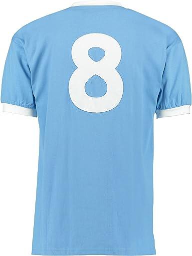 Manchester City Manchester City 1970 No8 Shirt - Camisa ...