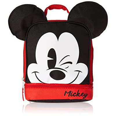 GDC Disney Mickey Mouse Dual Lunch Kit, 1, Multi: Kitchen & Dining