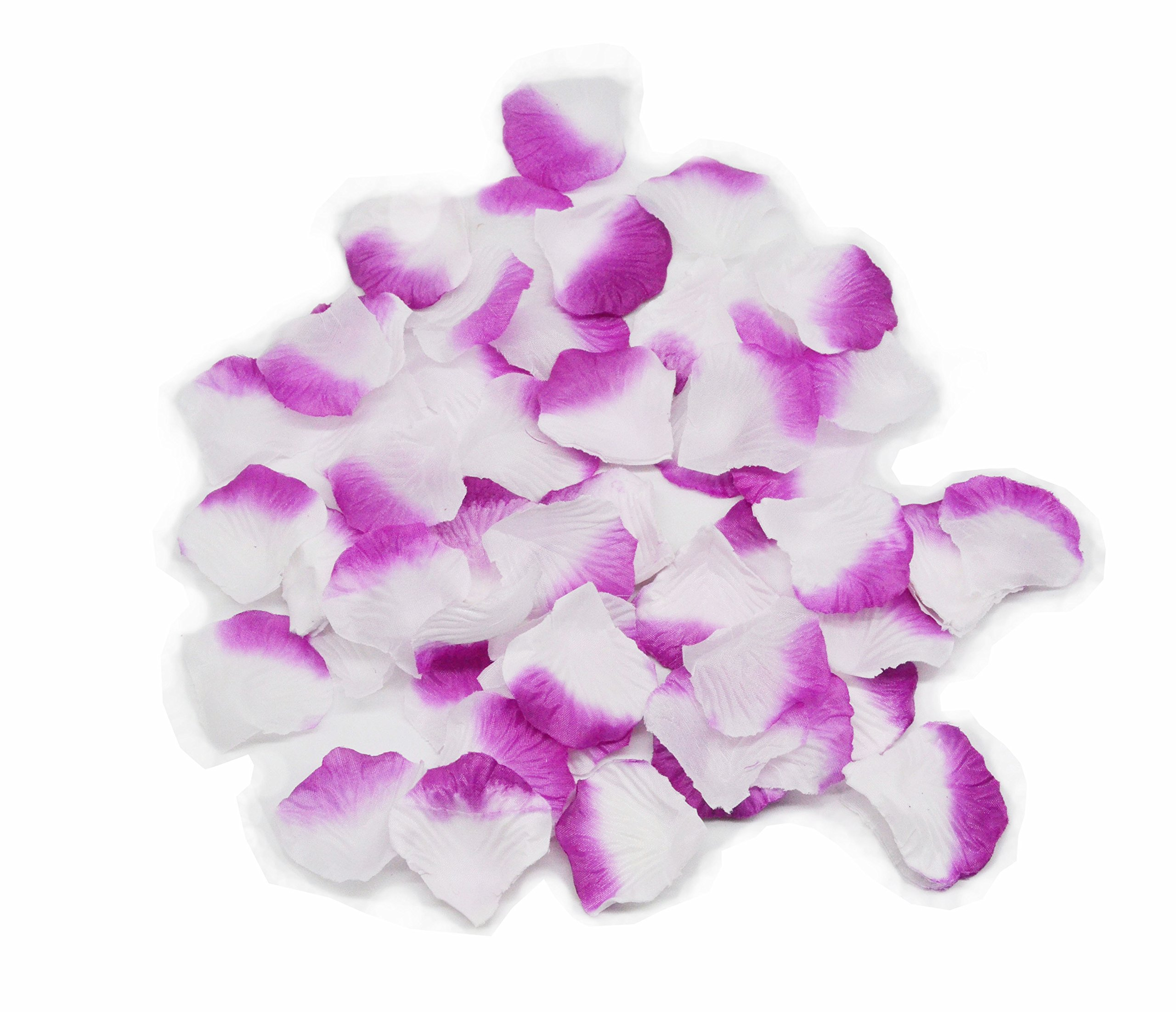 5000-Silk-Rose-Artificial-Petals-Supplies-Wedding-Decorations-White-and-purple-by-Shenglong