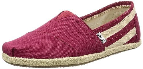 Toms Stripe University Classics, Alpargatas para mujer: Toms: Amazon.es: Zapatos y complementos