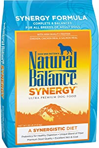 Natural Balance Synergy Ultra Premium Dry Dog Food with Prebiotics