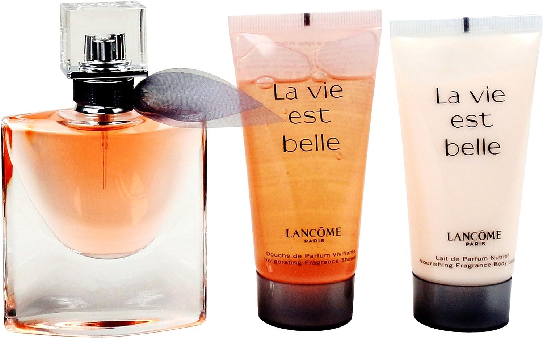 Lancome la Vie Est Belle Juego Femme/Woman, Eau de Parfum vaporisateur/Spray 30 ml, loción corporal 50 ml, 1er Pack (1 x 80 ml): Amazon.es: Belleza