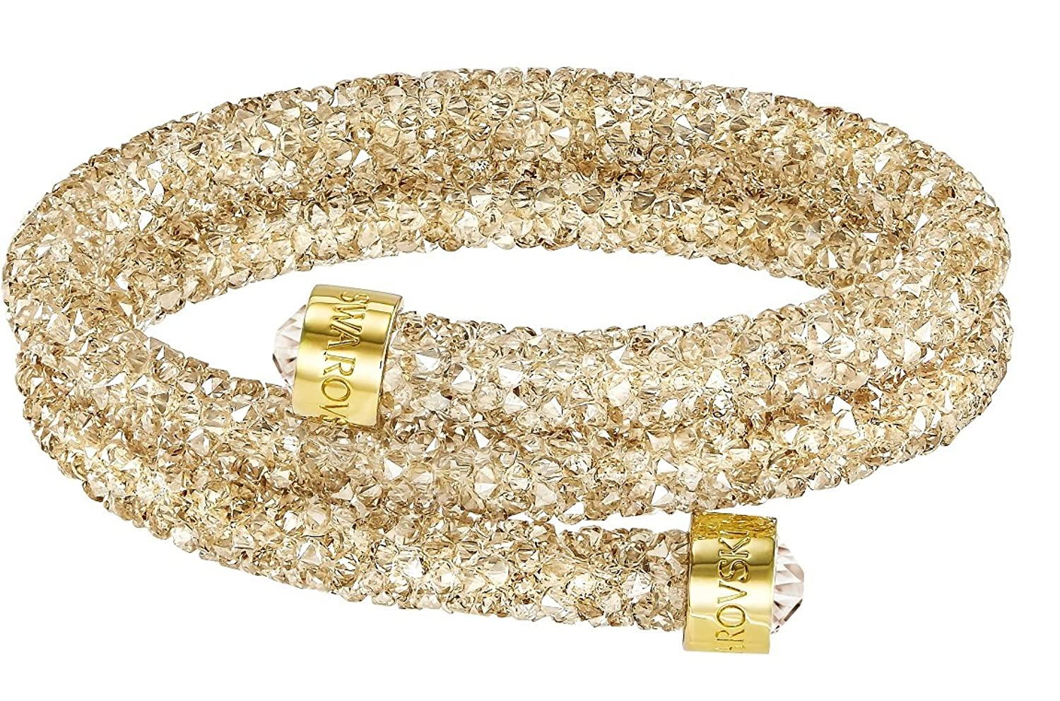 Swarovski Golden Double Crystaldust Bangle