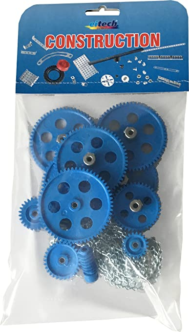 4 opinioni per eitech 00132- Pezzi da costruzione, ruote dentate con catena