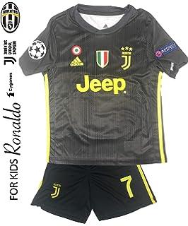 e12120af0 Juventus Soccer Jersey Kids on Season 2019 - Juventus Ronaldo No.7 -  Replica Jersey