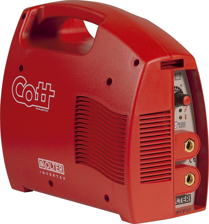 SOLTER - COTT 155 + maletín (240 V) Soldador Inverter Electrodos MMA Potencia 150A, 3,5Kg: Amazon.es: Industria, empresas y ciencia
