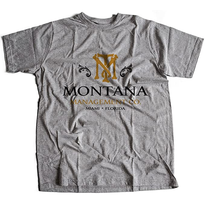9238g Montana Management Co Herren T Shirt Driver Genco Pura