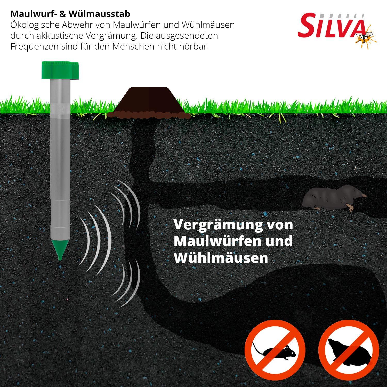 Silvatronic Wühlmaus und Maulwurffrei-Stab