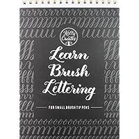 Kelly Creates 122 Sheet Small Brush Workbook, Multicolor