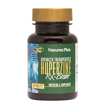 Amazon Com Natures Plus Huperzine Rx Brain 50 Mcg 30 Vegetarian