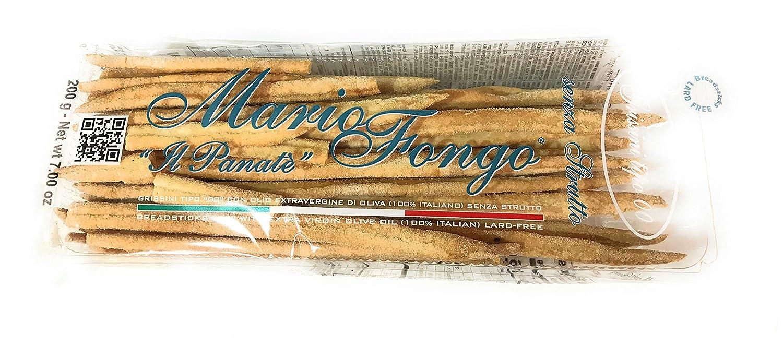 Mario Fongo, Breadsticks Short, 200 Gram