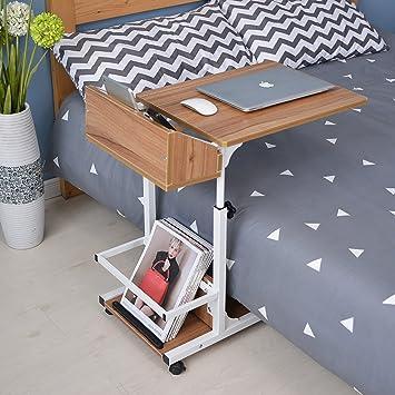 amazon com c table adjustable overbed table modern end sofa table rh amazon com