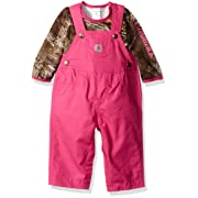 Carhartt Baby Girls' Sets, Camo Raspberry Rose, 9 Months