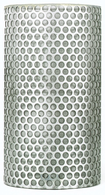 2 2 PT Coupling Petroleum Handling Series Stainless Steel 304 20 Mesh Y-Strainer Basket