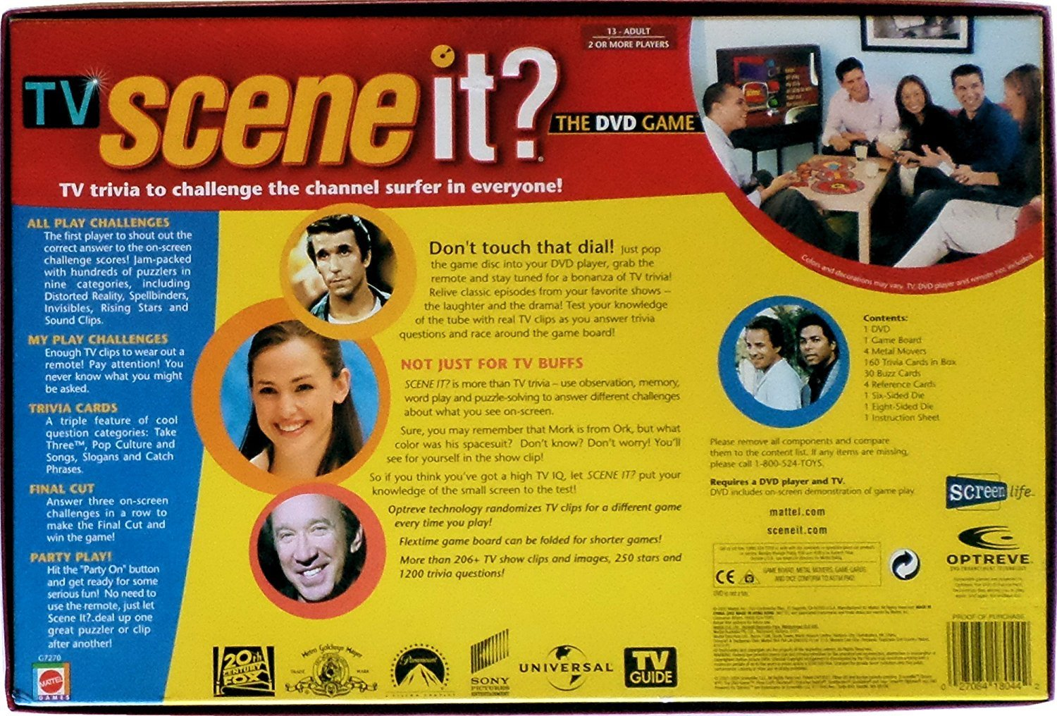 TV SCENE IT? The DVD game of the year