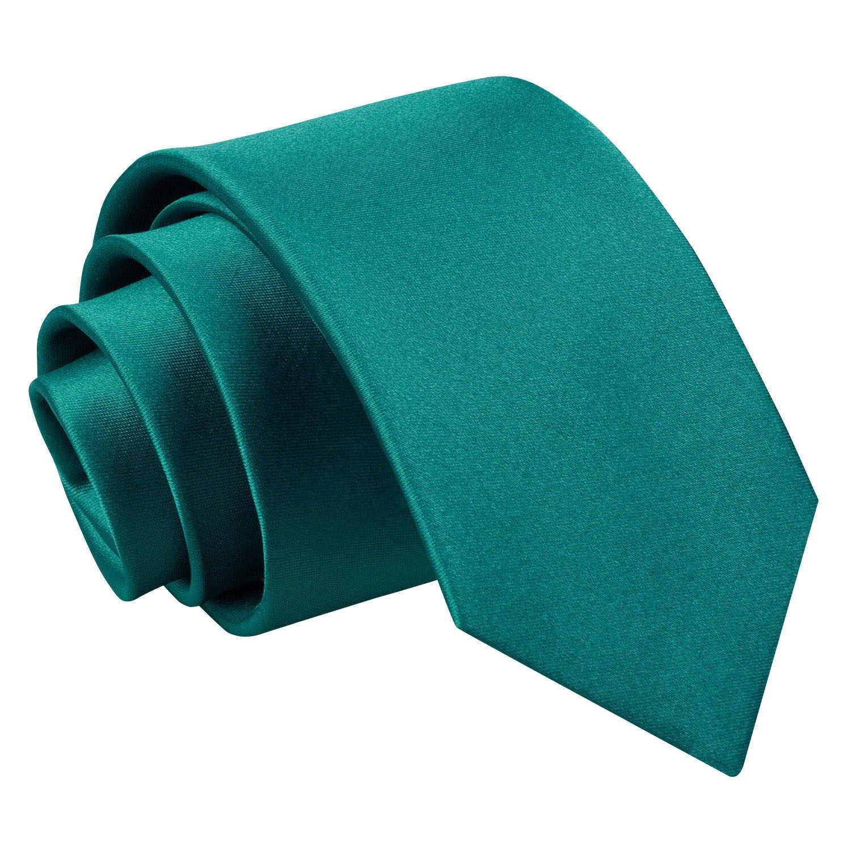 Verschiedene Farben Jahre alt Neu DQT Ebene Satin Elegante Klassische Jungen Hochzeit Krawatte 8