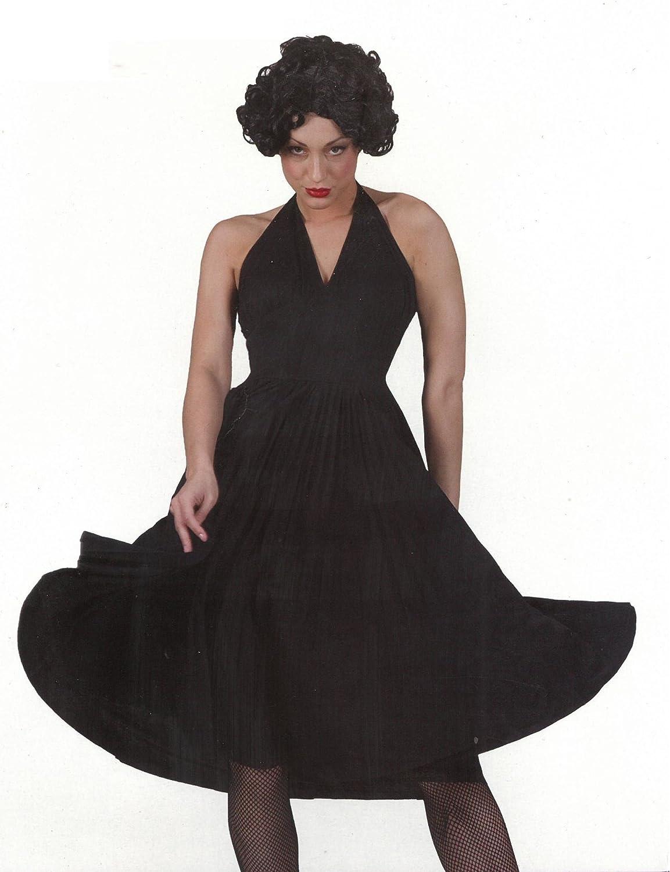 Disfraz Marilyn Negro T. 40: Amazon.es: Juguetes y juegos