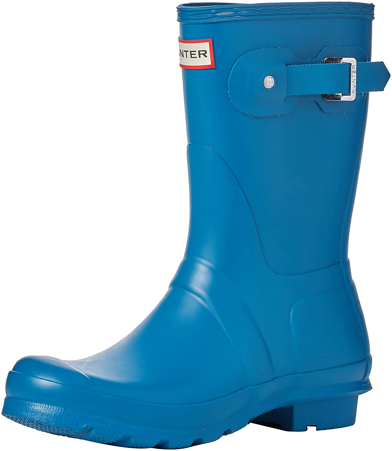 Hunter Women's Original Short Rain Boot B06VS7LJMF 9 B(M) US|Ocean Blue
