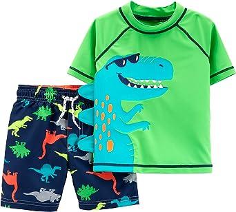 Carters Baby-Boys Rashguard Swim Set Rash Guard Set
