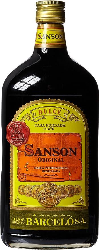 SANSON - Vino Quinado Botella 1 Lt: Amazon.es: Alimentación y ...