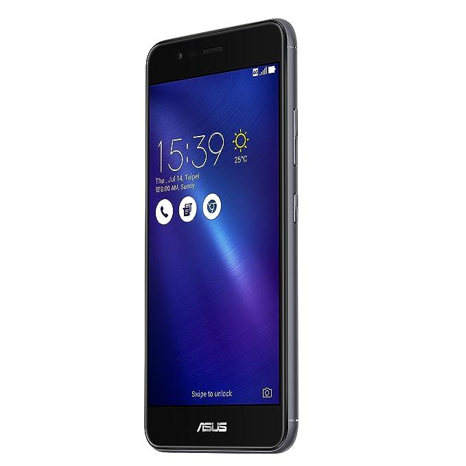 ASUS ZenFone 3 Max ZC520TL-4H015WW 32GB 4G Gris - Smartphone (SIM doble, Android, MicroSIM + NanoSIM, HSPA+, WCDMA, LTE, Micro-USB)
