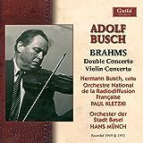 Adolf Busch - Brahms - 1949 & 1951