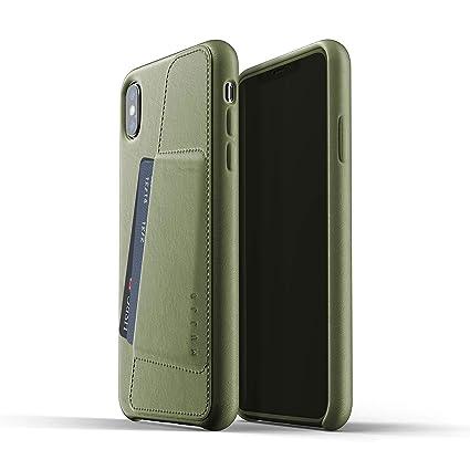 iphone xs max leather flip case