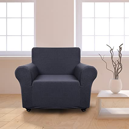 Amazon Com Panovous Chair Covers For Living Room Grey Chair