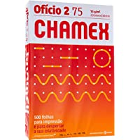 Chamex Papel Sulfite Oficio 2 , 75 g, CMX075CO2, Branco, 500 folhas