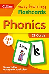 Phonics Flashcards: Prepare for Preschool with easy home learning (Collins Easy Learning Preschool) Kindle Edition