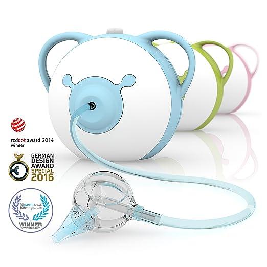 128 opinioni per Nosiboo Pro Aspiratore Nasale (elettrico, blu)- Un regalo perfetto per il baby
