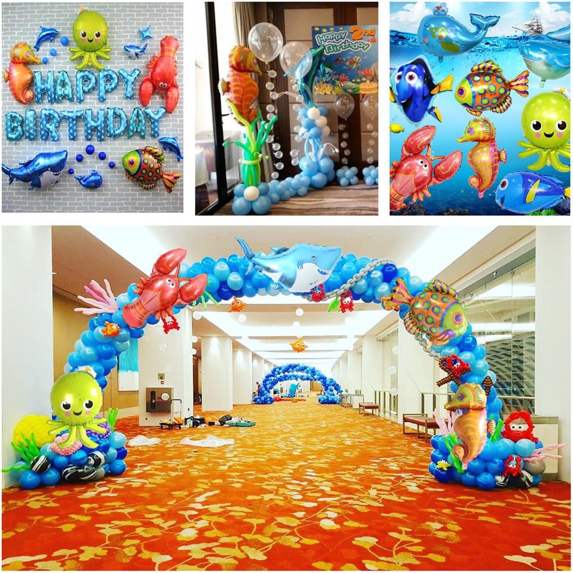 "3x 28/"" Foil Lobster Balloons Sea Ocean Marine Animals Lobsters Birthday Decor"