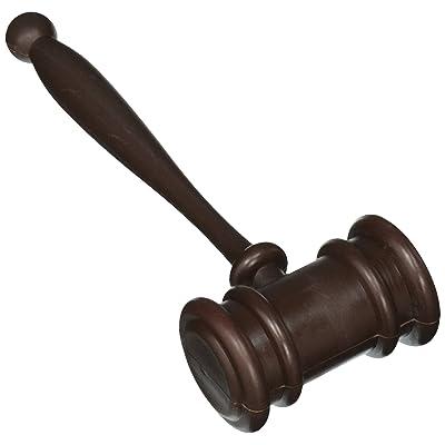 Forum Novelties Plastic Judge\'s Gavel: Toys & Games [5Bkhe2004573]