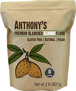 product image for Anthony's Almond Flour Blanched, 2 lb, Batch Tested Gluten Free, Non GMO, Vegan, Keto Friendly