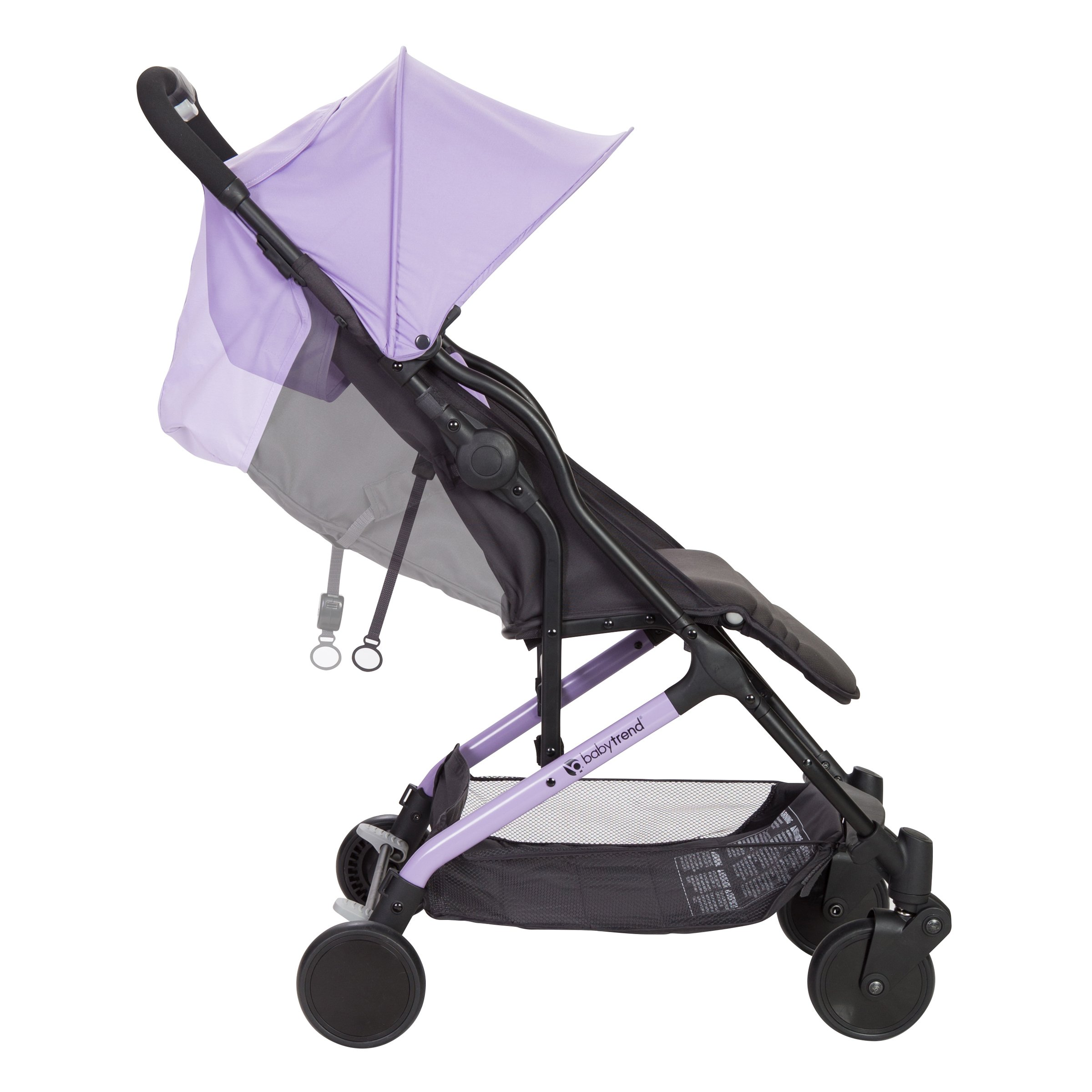 Baby Trend Tri-Fold Mini Stroller, Lilac by Baby Trend (Image #2)
