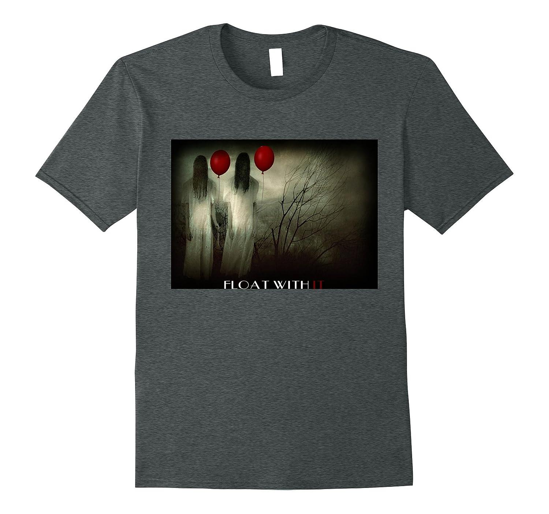 2017 red Balloon Horror Halloween T-shirt-TJ
