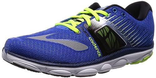 Brooks PureCadence 4 Zapatilla de Running Caballero, Azul/Negro, 42: Amazon.es: Zapatos y complementos