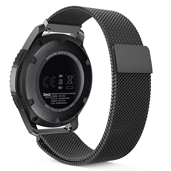 MoKo Gear S3 Watch Band Milanese Loop Stainless Steel Mesh Smart Strap For Samsung